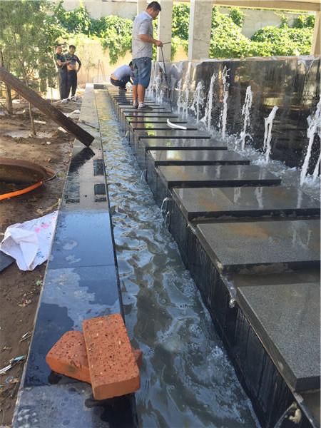景观施工水系调试